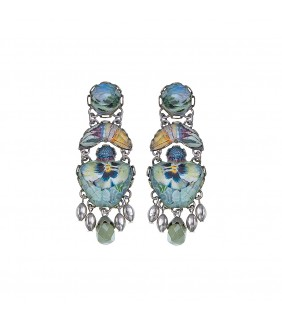 Kariba Snow Earrings
