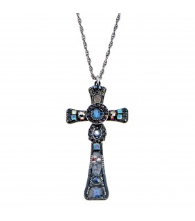 Beta Cross Necklace