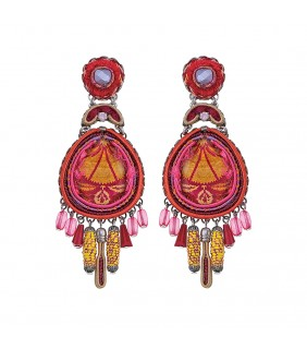 Gaillardia Maya Earrings