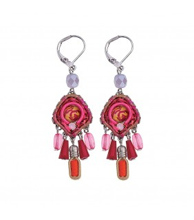 Gaillardia Karma Earrings