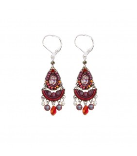 Ruby Tuesday, Iowa Earrings