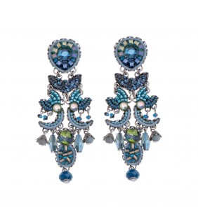 Coral Cave, Wilma Earrings