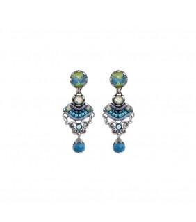 Coral Cave, Tina Earrings