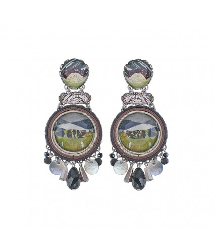 Midnight Kees Earrings