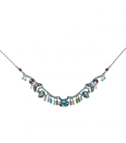 Caspian Wave Necklace