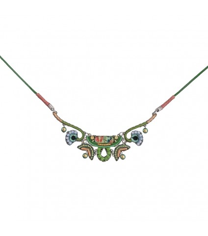 Daylily Greenie Necklace