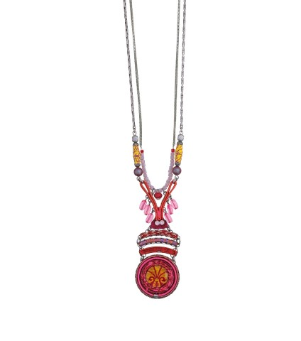 Gaillardia Dharma Necklace