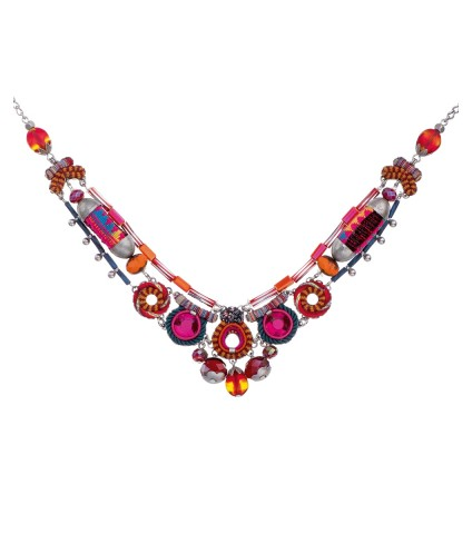Crimson Voyage, Aurora Necklace