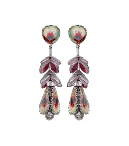 Transcendent Devotion, Lyra Earrings