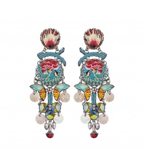 Bahia Iridescent Earrings