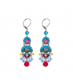 Cornflower Haze Earrings