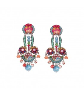 Polyanthus sun earrings for Fashion valley jewelry stores