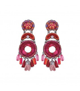 Gaillardia Hymn Earrings