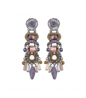 Purple Rain, Calm Cloud Earrings
