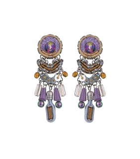 Purple Rain, Delia Earrings