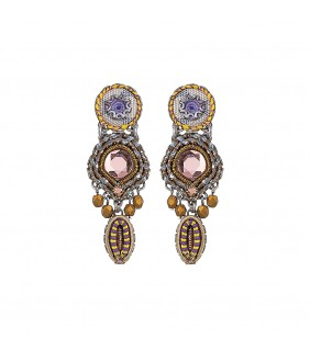 Purple Rain, Rosie Earrings