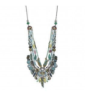 Aqua Shadow Necklace