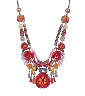 Gaillardia Creation Necklace