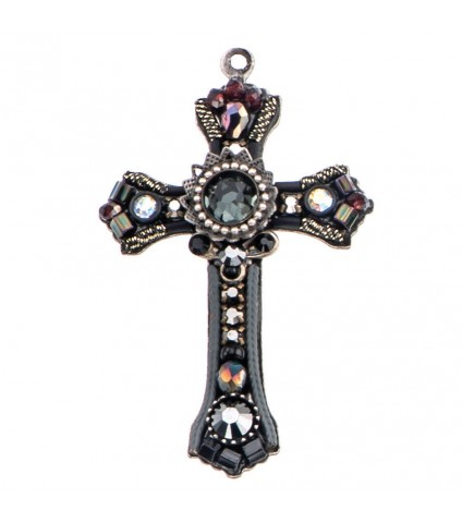 Forest Cross Necklace