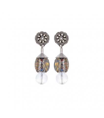 Transcendent Devotion, Soma Earrings