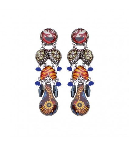 Sunset Bliss, Valda Earrings