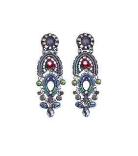 Coral Reef, Evelyn Earrings