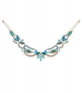 Clear Water, Cyra Necklace