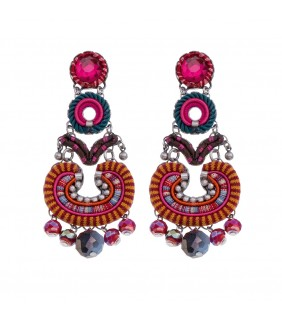 Crimson Voyage, Nisha Earrings