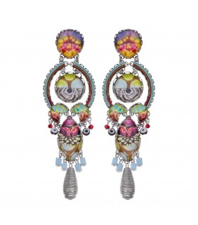 Unforgettable Fire, Launa Earrings