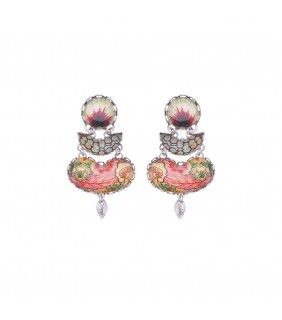 Coral Cave, Cornelia Earrings