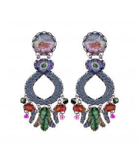 Enchanted Garden, Myrtle Earrings