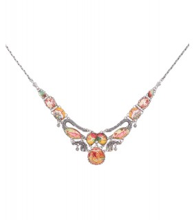 Coral Cave, Golden Slumber Necklace