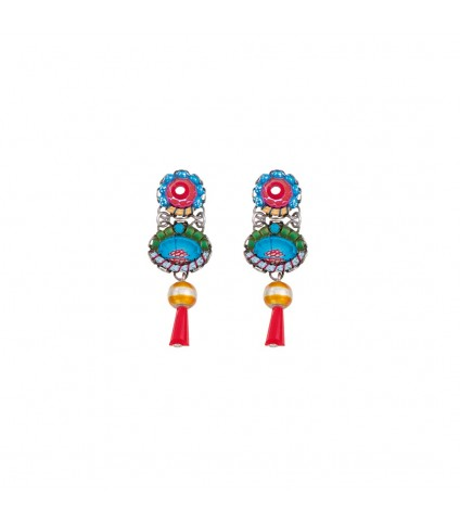 Cornflower Butterfly Earrings