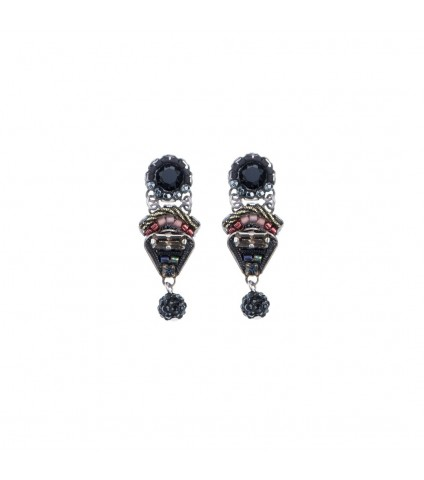 Blacktree Note Earrings