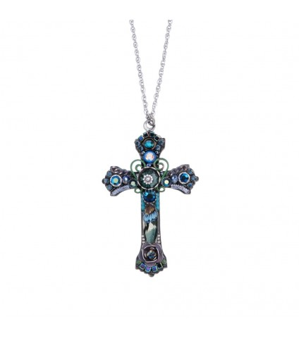 Ayala Bar Cross Necklace M