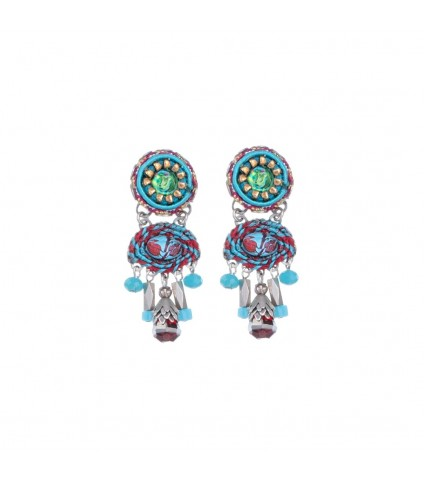 Coral Cave Nora Earrings