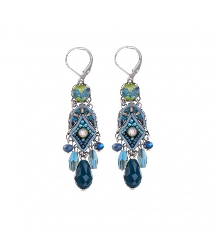 Coral Cave, Perda Earrings