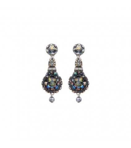 Festival Night, Jet Earrings