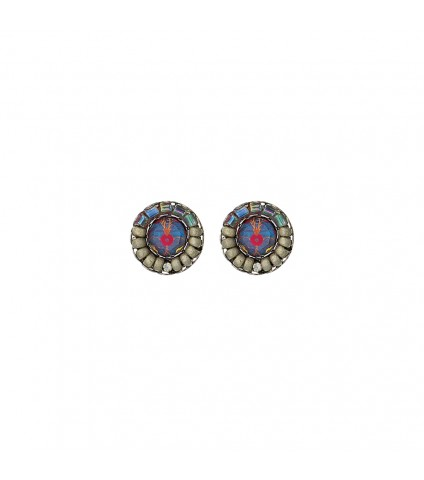Blue Skies, Elie Earrings