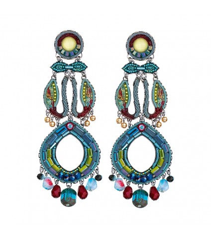 Turquoise Crown, Hanna Limited Edition Earrings