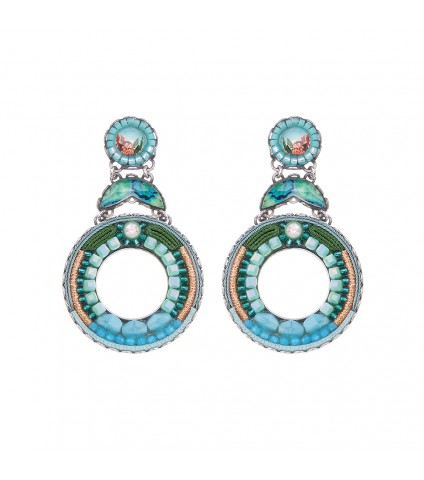Clear Water, Cornelia Earrings