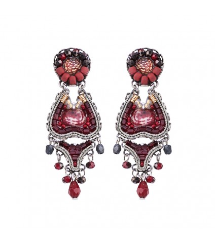 Ruby Love, Scarlet Earrings