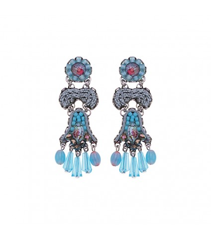 Turquoise Horizon, Cirros Earrings