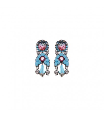 Turquoise Horizon, Nimbus Earrings