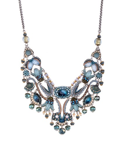 Blue Velvet, Aurora Necklace