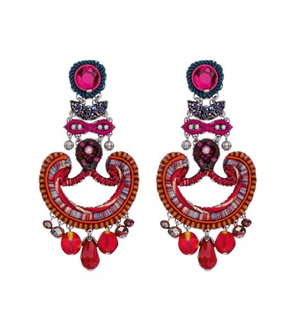 Crimson Voyage, Emily Earrings