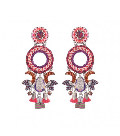 Ruby Tuesday, Meditation Earrings