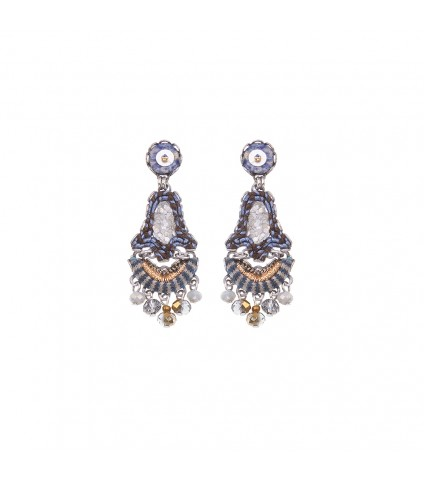 Sapphire Waves, Rita Earrings