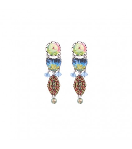 Fiesta Green, Ananda Earrings