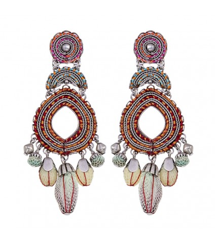 Coral Cave, Storm Earrings